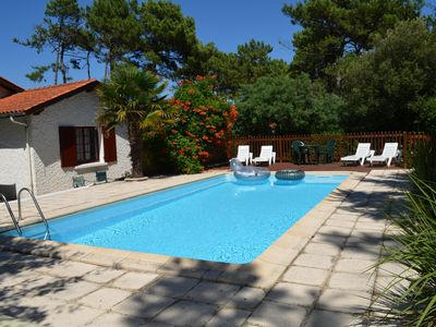 Photo for House/Villa, private pool, 5 minute walk to beach/shops