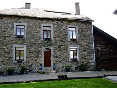 Photo for Well maintained holiday home in typical Ardennes style