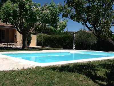 Photo for Villa with private pool and large garden of 2000 m2 fully fenced