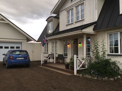 Photo for Luxury Scandinavian style villa (12-14 guests) with hot tub at the Golden circle