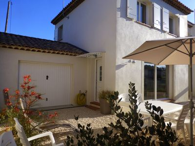 Photo for Recent house 3 bedrooms very quiet area, near Six Fours les plages