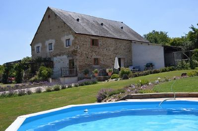 Gite ,garden and pool for guests sole use!