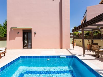 Photo for Loutra Residences,  each with its own private pool, discreet comfort!