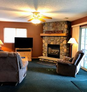 Photo for New! Deluxe Lodge Home on Little Saint Germain Lake!