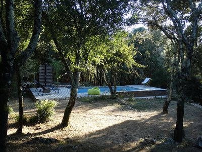 Photo for villa in a quiet wooded setting with private pool
