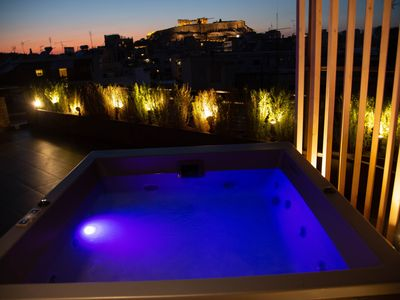 Photo for Penthouse with Acropolis view for 2 guests - The Urban Link