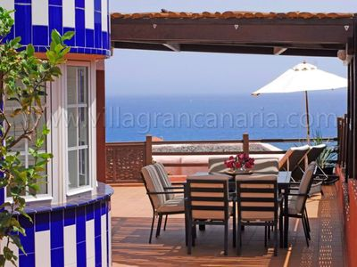 Photo for 4 bedroom Villa, sleeps 8 in San Agustin with Air Con and WiFi
