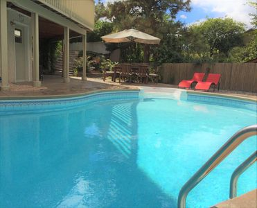 Heated pool is available June -September.