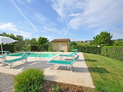 Photo for Wonderful private villa for 6 people with WIFI, private pool, TV, panoramic view and parking