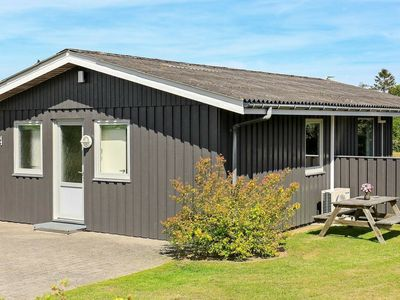 Photo for Wooden Holiday Home in Humble Syddanmark with terrace and barbecue