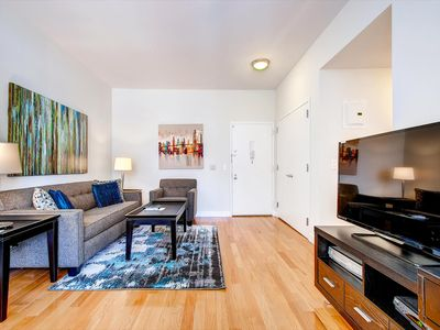 Photo for Spacious Midtown 1BR Apt | Full Kitchen | Fitness Center | by GLS