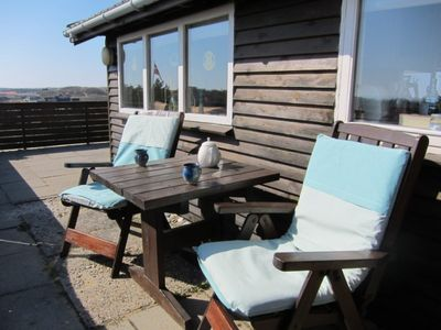 Photo for Vacation home in a top location on dunes with a panoramic view of the North Sea