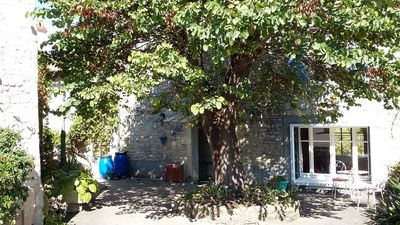 Photo for Character village house with private swimming pool and enclosed gardens