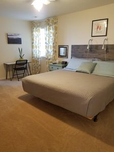 Photo for Private Suite attached to home sleeps 4