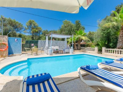 Photo for YourHouse Crestaix - finca with pool and terrace for 4 guests