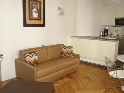 Photo for S01431 - Chic studio for 3 people near the Louvre