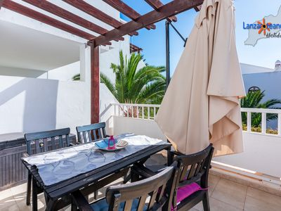 Photo for Joy nice apt with free wifi on the 1st floor complex w/pool in Costa Teguise