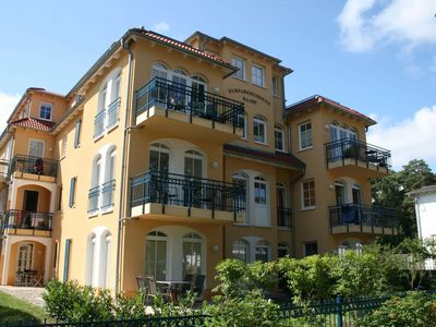 Photo for Kurparkresidenz Baabe Whg. 10 with balcony / sea view - H: Kurparkresidenz Baabe Whg. 10 - approx. 100m beach
