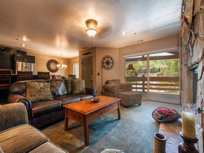 Photo for Park City Platinum Rated - 2BR Sleeps 8, Walk to the Slopes