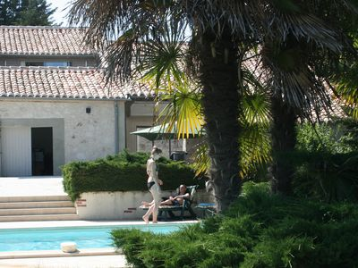 Photo for Accessible Gites With Pool In Landscaped Grounds Of 13th Century French Manoir