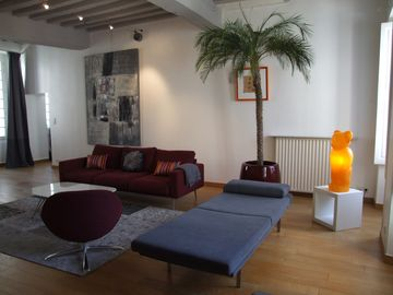 A haven of peace elegant, spacious, bright & super equipped in the heart of town!