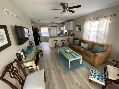Photo for Beautifully furnished condo near the beach!