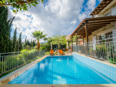 Photo for Villa Hermes - Luxury Stone Villa with private pool in Skala