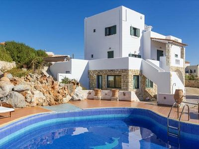 Photo for Delphina Villa - Beautiful Seafront Villa with Private Pool and Impressive Views! - Free WiFi