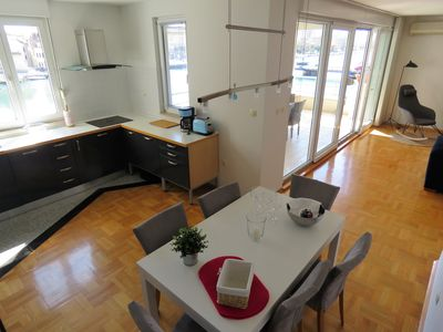 Photo for A modern apartment in the city center, by the river Cetina.