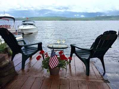 Photo for Island View 2. Apartment W/ Lakeside Patio Perfect For 2-4. Cozy + Economical