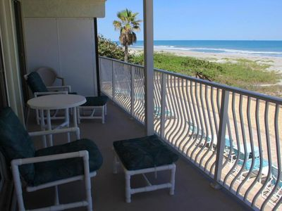Photo for DIRECT OCEANFRONT! Ocean Beach Villas Unit 203! Just Steps to the BEACH!