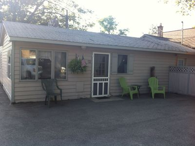 Photo for Parkview Cottage 12- Half block from Lake Michigan Beach