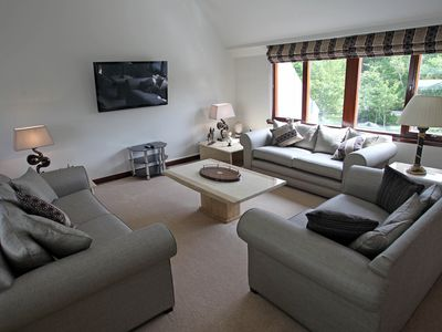 Photo for Luxury House Beside Gleneagles Hotel.  5 Star Visit Scotland  Rating