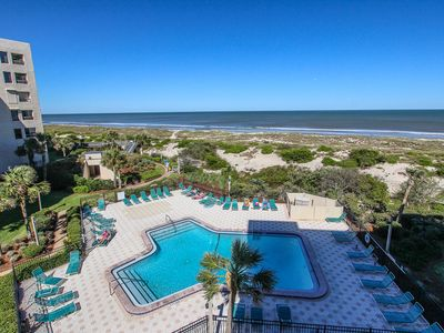 Oceanfront condo superbly renovated with awesome views