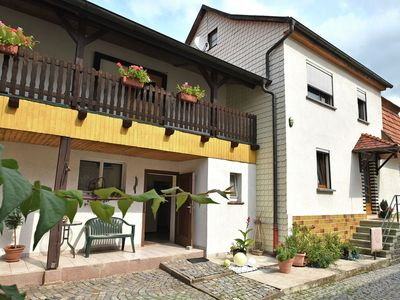 Photo for Holiday home in Thuringia with private terrace, use of a garden and pool