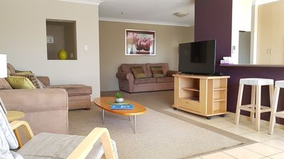 Photo for Self-contained with ocean views, Wi-Fi, parking, opposite patrolled beach U12