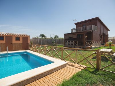 Photo for Exceptional wooden house with pool - Imasaru