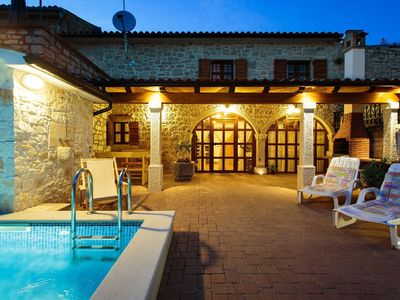 Photo for Cozy holiday home with heated pool, near Lim Bay and 10 km from Vrsar and beach