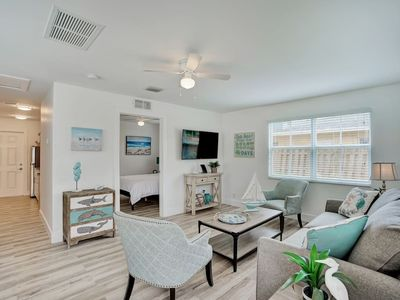 Photo for Beach Chalet - One block from the beach!