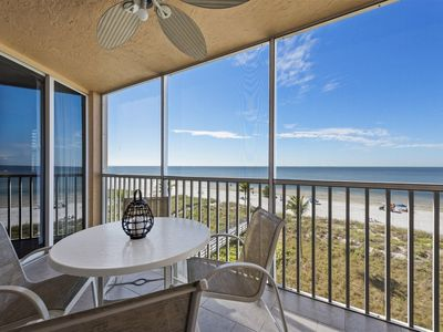 Photo for Best View of Beach, Gulf, and Bay! Screened Lanai & Heated Pool! Located Close to Times Square