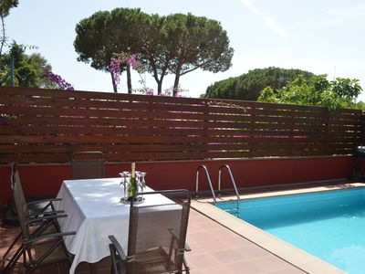 Photo for House with terrace and private pool S'Agaro, Costa Brava, Girona