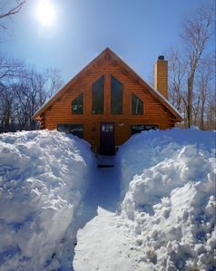 Photo for Charming Vermont Log Cabin