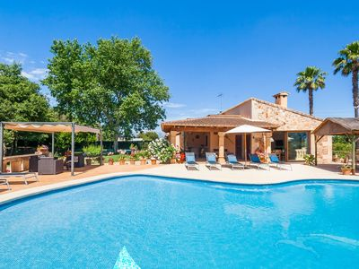 Photo for Mediterranian Finca with Pool and Garden