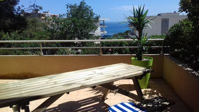 Photo for Ideally located on the heights of Bastia, between Cap Corse and St Florent