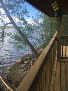 Photo for Private Lakefront Cabin in Regional Park