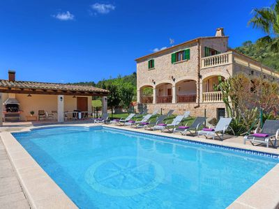 Photo for Villa Xamanto -This Villa Includes fenced in pool, Table Tennis & A/C sleeps 12