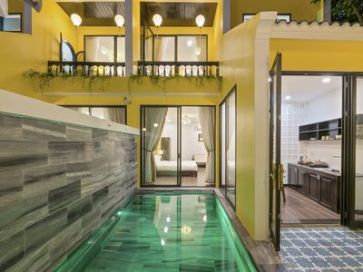 Photo for Rosie Hoi An with 4 room, 2 swiming pool and 2 kitchen