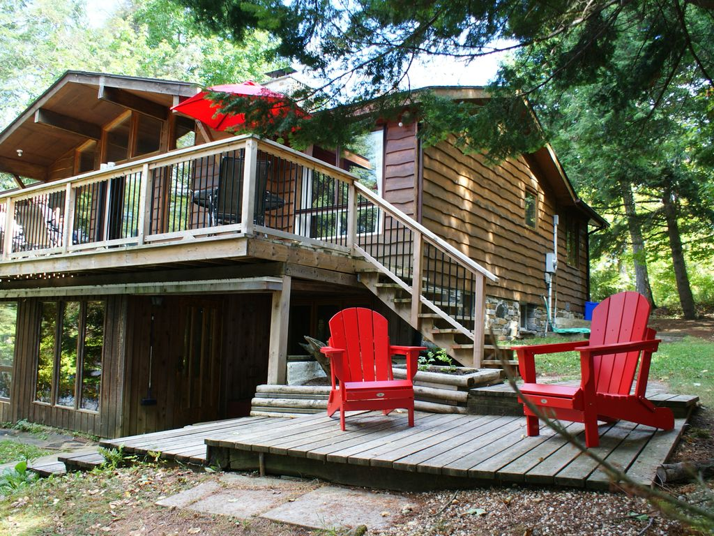 barrie welcome bearfoot for cottage resort rentals cottages rent