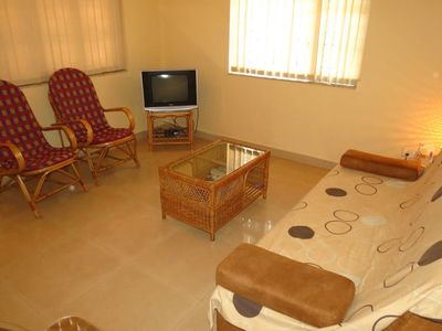 Photo for 1.3 km from the center of Calangute with Pool, Air conditioning (646669)