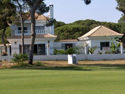 Photo for Golf Villa and annex with a pool right by a new golf course